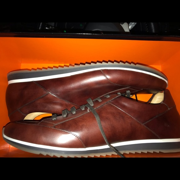 Magnanni Chaz Leather Sneakers Nwob 3